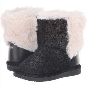 New Osh Kosh B'gosh Kids Furry Sparkle Winter Boot